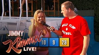 The 9th Annual Jimmy Kimmel Live Belly Flop Competition