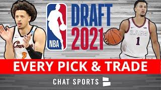 NBA Draft 2021 Results: Picks 1-60 - Full Draft Board Including Trades