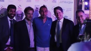 ATP Players' Party At The 2016 Dubai Duty Free Tennis Championships