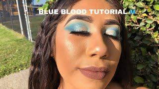 BLUE BLOOD EYESHADOW TUTORIAL 2019