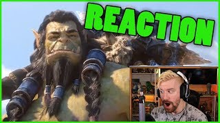 SAFE HAVEN Cinematic Reaction | Thrall's BACK Cinematic Reaction World of Warcraft BfA