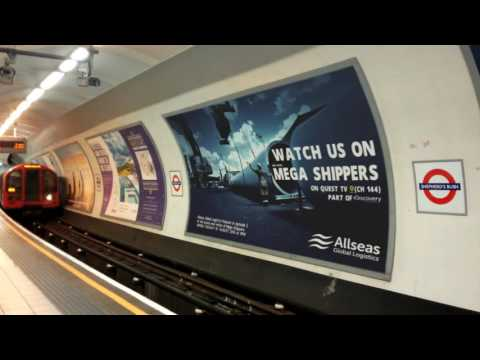 Allseas London Tube advert