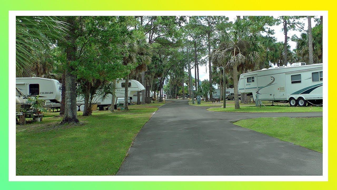 Camping In Florida Suncoast Rv Resort Youtube