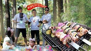 """Đi Chơi Lễ Phục Sinh 2018 :  """"nấu ăn ở công viên Lá Vàng """""""