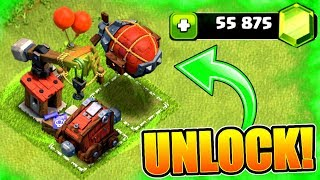 GEMMING ALL SIEGE MACHINES! 🔥 TOWN HALL 12 UPDATE GEM SPREE - Clash Of Clans