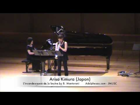 3rd JMLISC Arisa Kimura (Japan) L'incandescence de la bruine by B. Mantovani