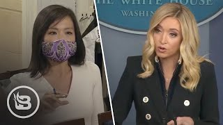 Press Sec. Shuts Down Reporter with Gotcha Question About Antifa