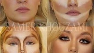 Contouring for the Mature Woman!!!  WARNING - I have no makeup on!