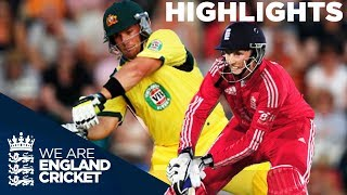 England & Australia In Huge Scoring T20 | 2013 - Highlights