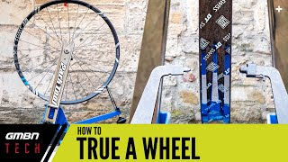 How To True A Bicycle Wheel   Mountain Bike Wheel Service