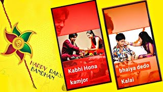 #Raksha Bandhan Special New Effect Full Screen WhatsApp Status Letest 2018|Bhai behan Ka pyar Status