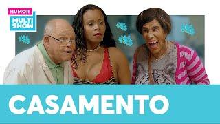 Graça ficou CHOCADA com o novo MARIDO de Sara Jane! 😲 | ESQUENTA TÔ DE GRAÇA | Humor Multishow