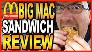 McDonald's Big Mac Combo Review + Drive Thru test