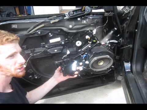 Mazda Cx 7 Window Motor Replacement Youtube
