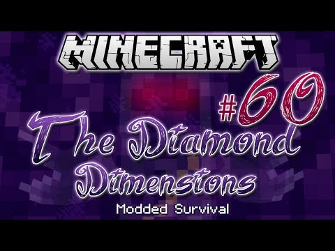 """WITHER BOSS BATTLE""   Diamond Dimensions Modded Survival #60   Minecraft - Smashpipe Games"