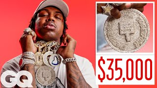 EST Gee Shows Off His Insane Jewelry Collection   On the Rocks   GQ