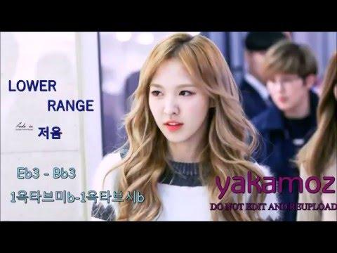 Son Wendy's Vocal Range [Long Version, 20Minutes] [Eb3 - Eb7] - 웬디의 음역대 [20분] [1옥타브미b - 5옥타브미b]