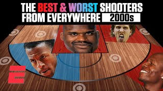 The best and worst NBA shooters of the 2000s from everywhere on the floor | NBA on ESPN