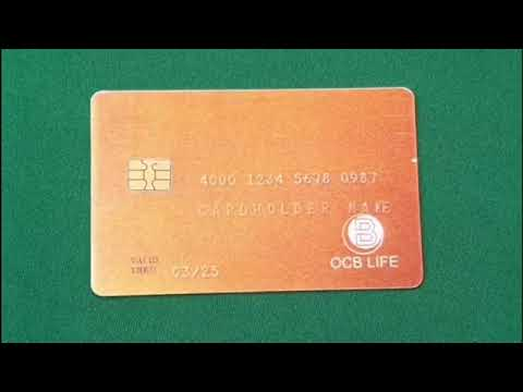 Making a payment using the prototype OCB Life debit card