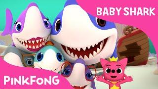 Baby Shark | Shark Family & Photographer Mr. Octopus | Animal Songs | PINKFONG Songs for Children