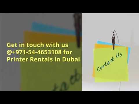 Printer Rental Dubai - Techno Edge Systems L.L.C