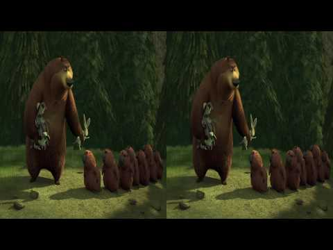 Open Season in 3D BD sample