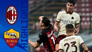 Milan 3-3 Roma | Roma fight back thrice to rescue a point! | Serie A TIM