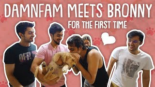 BRONNY MEETS DAMNFAM FOR THE FIRST TIME 🐶 | Mr.Mnv |