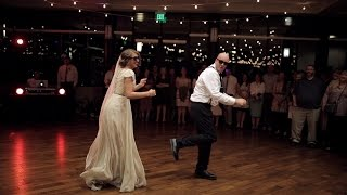 BEST surprise father daughter wedding dance to epic song mashup | Utah Wedding Videographer