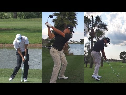 ADAM SCOTT - 2014 GOLF SWING FOOTAGE - REG & SLOW ...