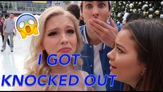 I GOT KNOCKED OUT WHILE ICE SKATING | Jordyn Jones VLOGMAS