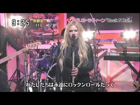 Baixar Avril Lavigne - Rock N Roll @ Japanese TV show 19/11/2013 - HD