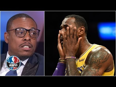 'I feel bad for LeBron' - Paul Pierce on Lakers' management issues | NBA Countdown