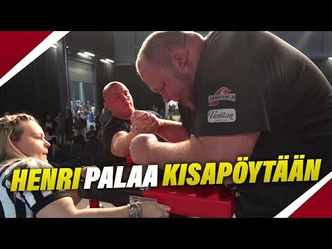 Henrin paluu kisalavoille!   Henri vs Suomen Suurin Kädenvääntäjä