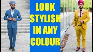 How to match your turban with your outfit : Style tips for Singhs / Sardars