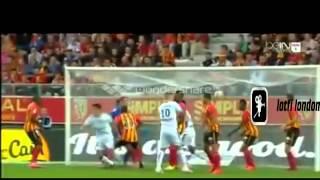 تغطية هدف عيسى ماندي الجميل  امام لونس في الدوري الفرنسي