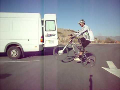 Mtb How to Video, No handed pedal wheelie