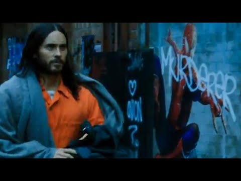 LEAKED SPIDER-MAN SCENE IN SONY MARVELS MORBIUS TRAILER Connects Venom Verse to the MCU