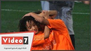 بالفيديو..شاهد نجل أبو تريكة «الزملكاوى» يبكى عقب خسارته فى نهائى بطولة «الصيد»
