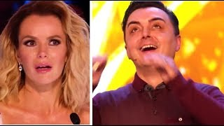 GOLDEN BUZZER: Magician STUNS The Judges And Brings Them To TEARS! | Britain's Got Talent 2018