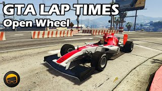Fastest Open Wheel Cars (2020) - GTA 5 Best Fully Upgraded Cars Lap Time Countdown