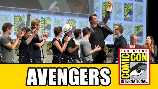 MARVEL AVENGERS AGE OF ULTRON Comic Con Panel