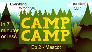 Everything Wrong with Mascot (Camp Camp) in 7 minutes or less