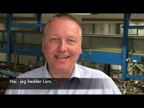 """Tak til alle jer som panter!"" - Lars Krejberg Petersen, Dansk Retursystem"