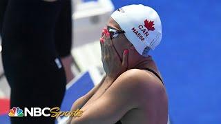 Canada's Masse shocks field in 100 backstroke  |  World Swimming Championship 2019 | NBC Sports