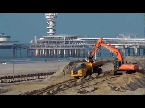 Nieuwe Boulevard Scheveningen in een paar minuten (timelapse)