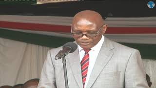Kisii Governor James Ongwae's speech at the launch of Kisii Hospital Project