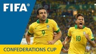 Brazil 3:0 Spain, FIFA Confederations Cup 2013