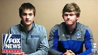 Huckabee reacts to media, stars slamming Covington students