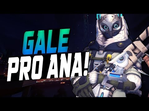 GALE BEST ANA IN THE WORLD! [ OVERWATCH SEASON 8 TOP 500 ]